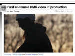 First All-Female BMX Video in Production
