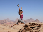 Pieces of the Middle East; Jumping Jebels and Wandering Wadis in Jordan